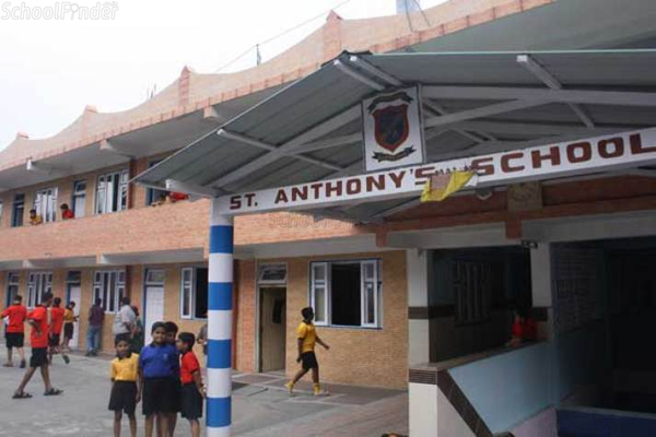 St Anthony's School - cover