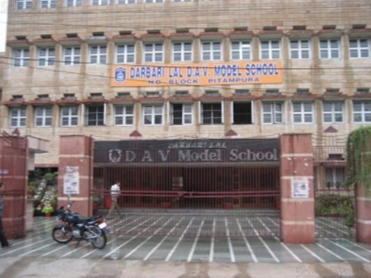 Darbari Lal DAV Model School Pitampura - cover