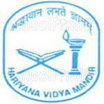 Hariyana Vidya Mandir - logo