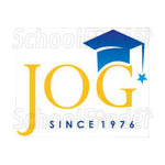 P Jog High School - logo