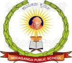 Sri Siddaganga Higher Primary School - logo